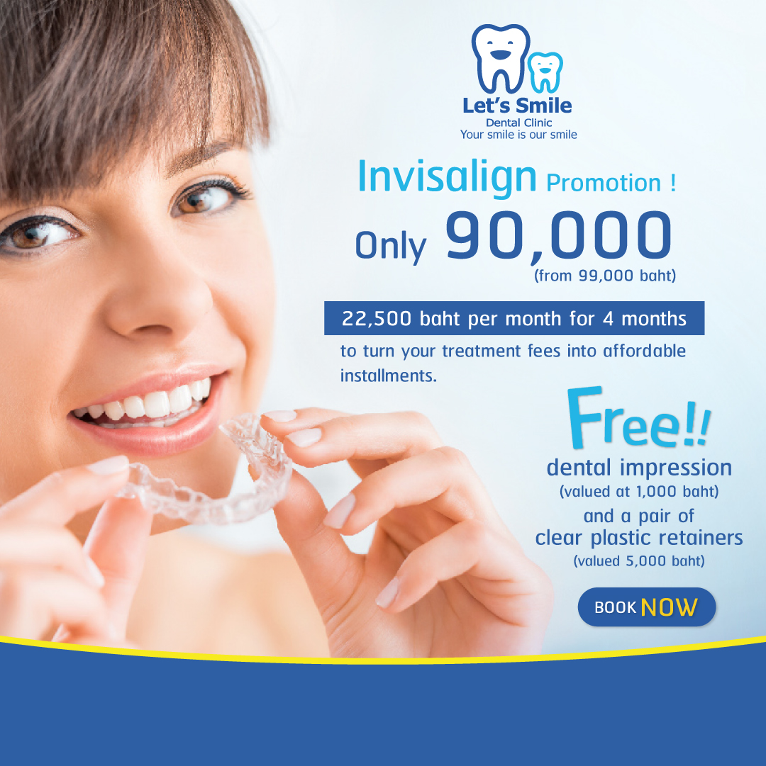 Special Offer! Invisalign service to adjust your teeth with